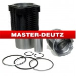 APPLY TO DEUTZ engine parts: Cylinder liner and piston 100mm and 102mm