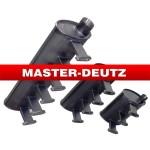 APPLY TO DEUTZ F3L912 ,F4L912,F6L912Exhaust Muffler0210 3629/ 0210 3630/0210 3631