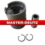 APPLY TO DEUTZ engine parts: FL912 Piston+piston rings+pin+clips 4154891